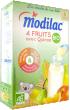 Modilac 4 fruits avec quinoa bio dès 6 mois 230 g